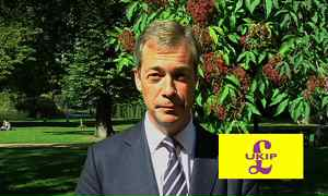 Winning campaign of MEP, Nigel Farange for the leadership of 'UKIP'