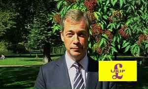 Winning campaign of MEP, Nigel Farange for the leadership of 'UKIP'