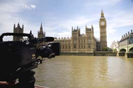 RAW filming Houses of Parliament